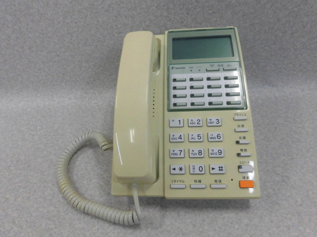 TD130電話機(W)